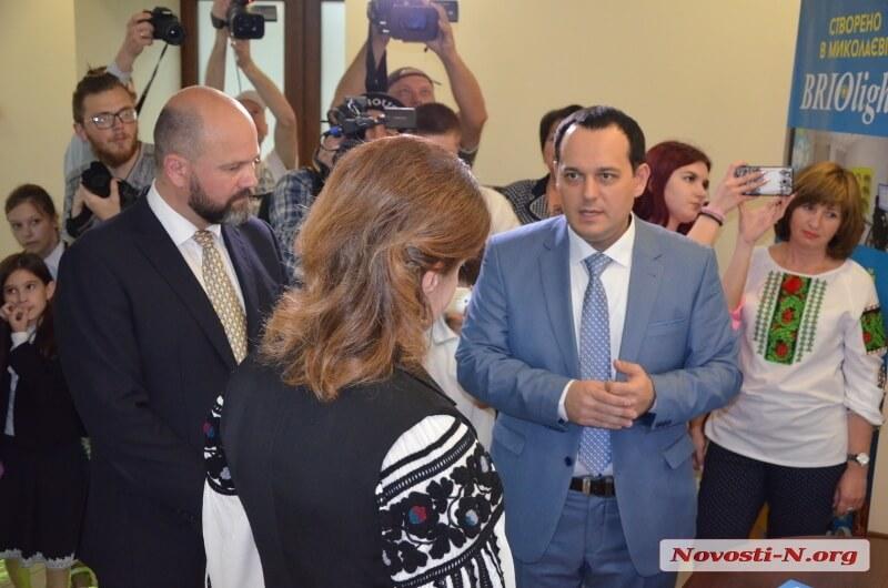 Андрей Васильев и Марина Порошенко