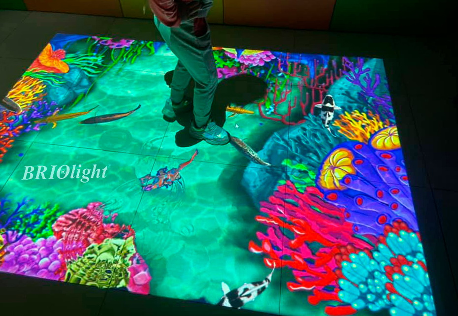 інтерактивна підлога для торгівельних розважальних центрів