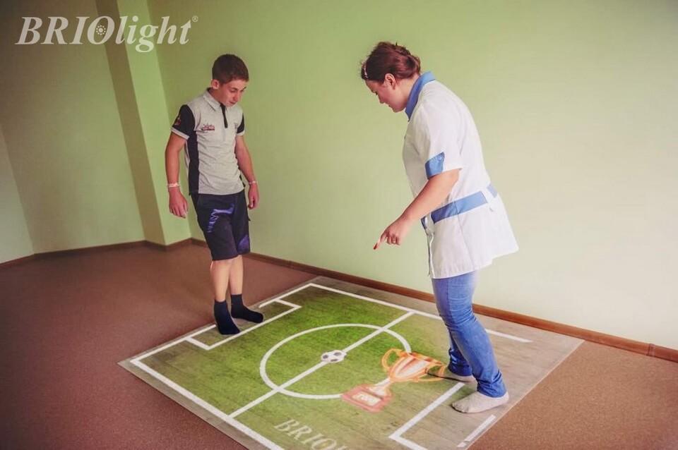Projection floor for schools