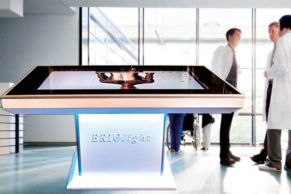 Анатомічний стіл Бріолайт