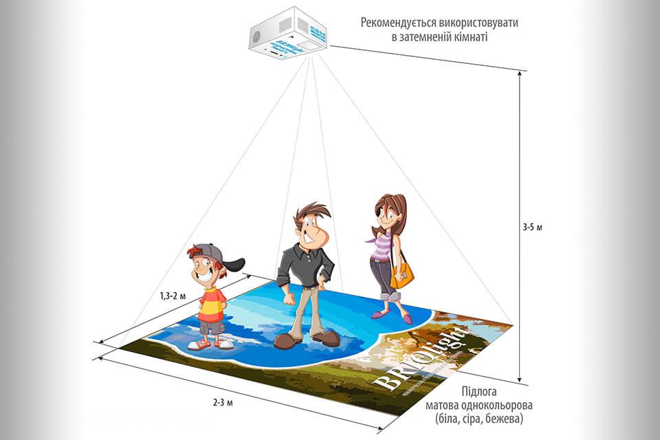 Briolight интерактивный пол