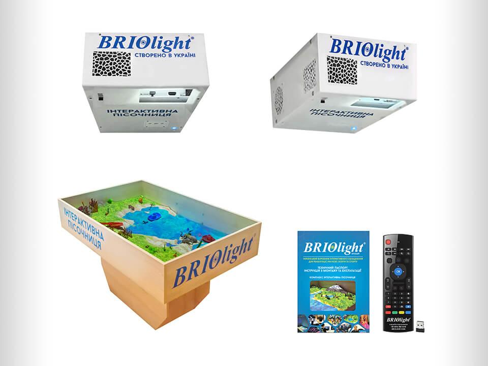 Інтерактивна пісочниця Briolight