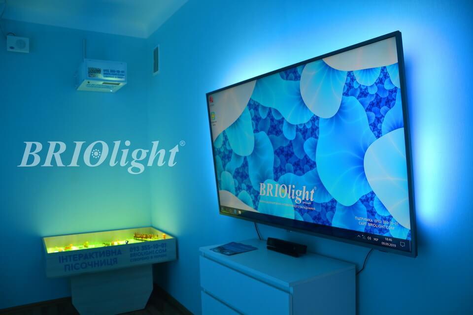 Interactive room Briolight