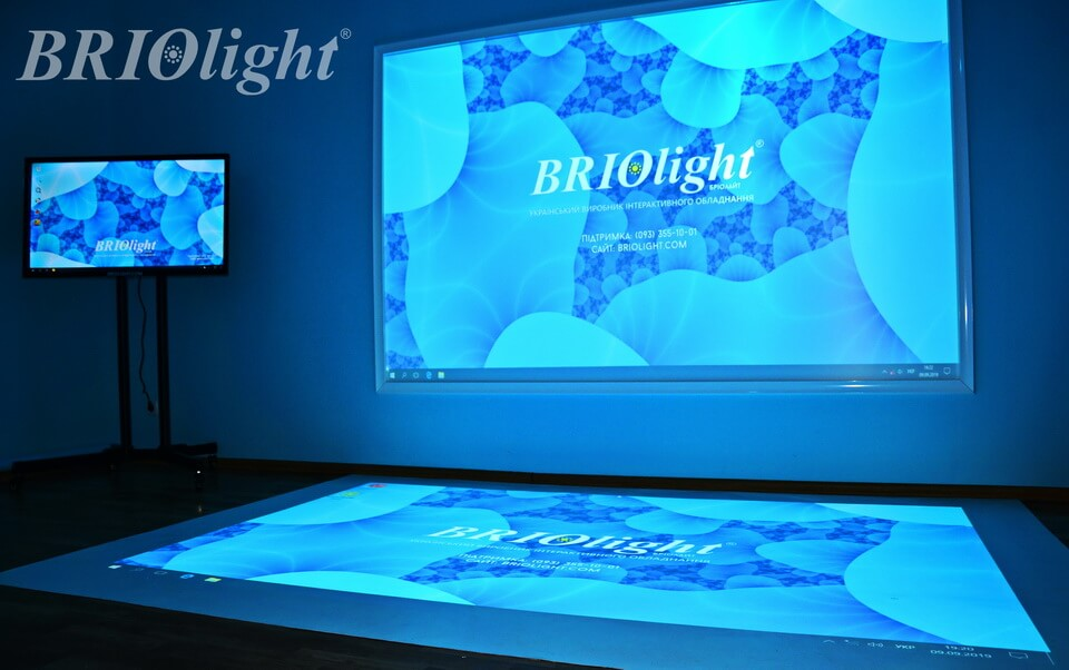 Interactive room Briolight in Darnytsya Orphanage, Kyiv