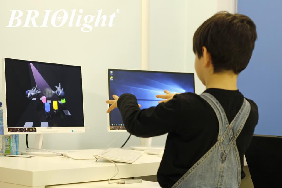 Interactive room Briolight in Kyiv City Center for the Rehabilitation of Children with Disabilities