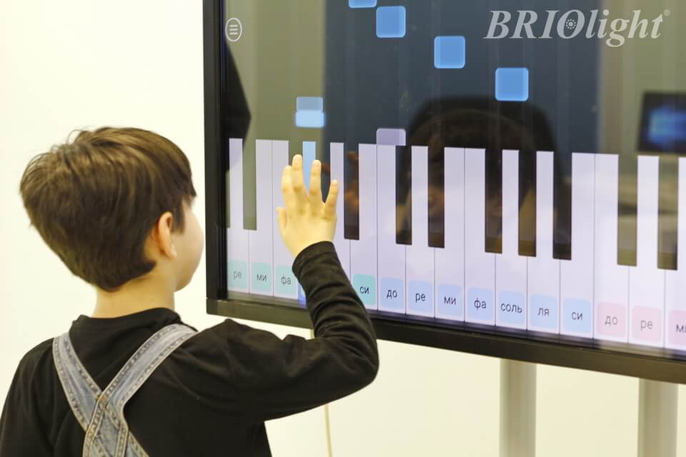 Interactive room Briolight