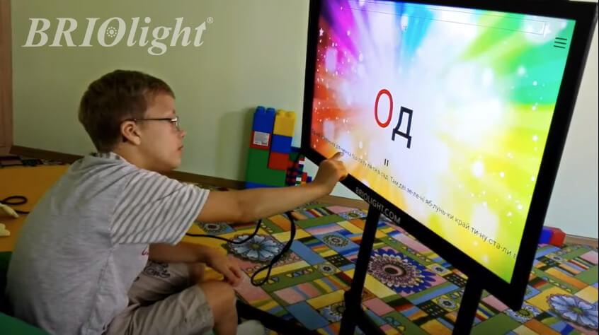 Интерактивная панель Briolight