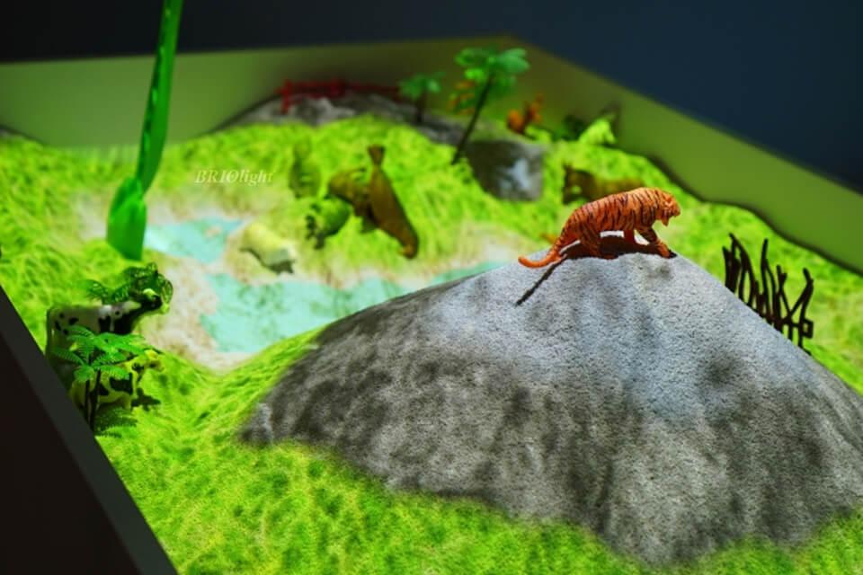 Briolight interactive sandbox