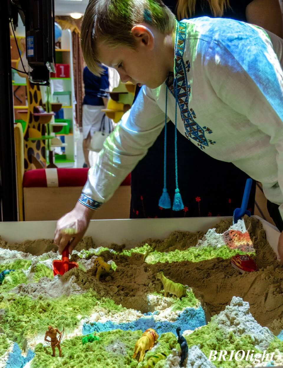 Интерактивная песочница Бриолайт