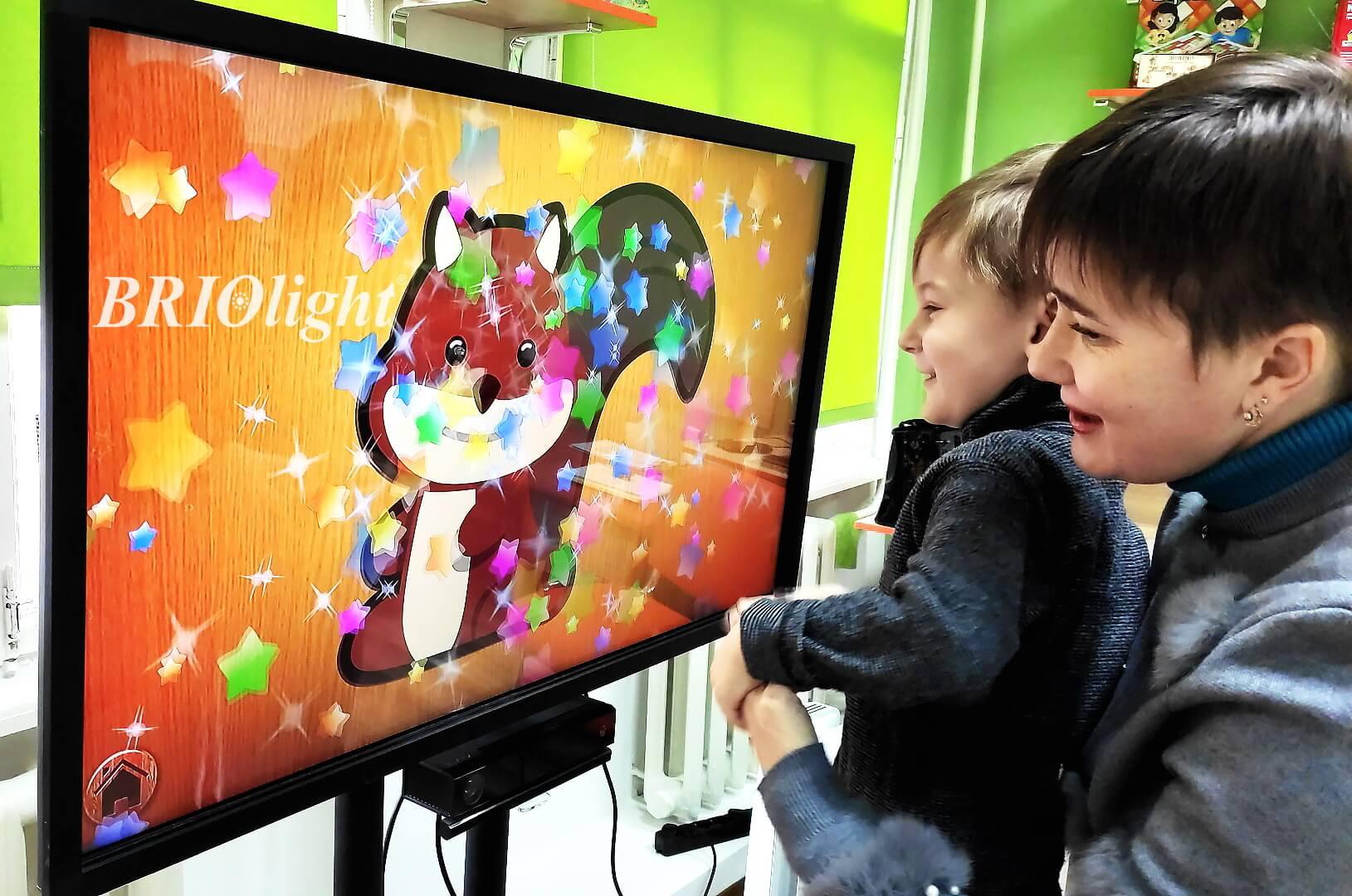 Интерактивная панель в детской реабилитации