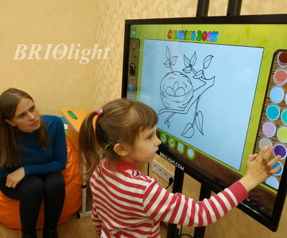 interactive equipment for working with children