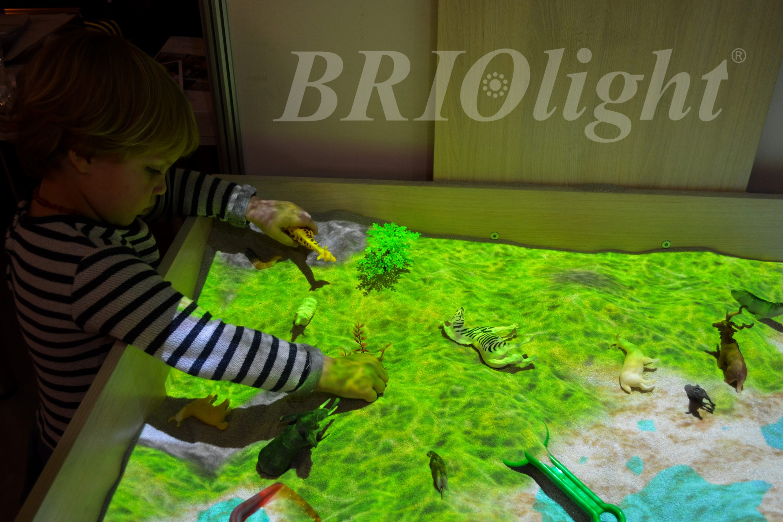 интерактивная песочника для школ