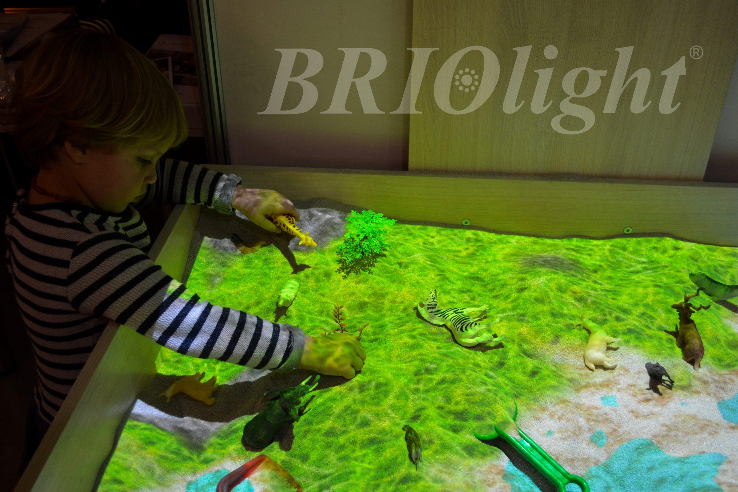 інтерактивна пісочниця для реабілітації