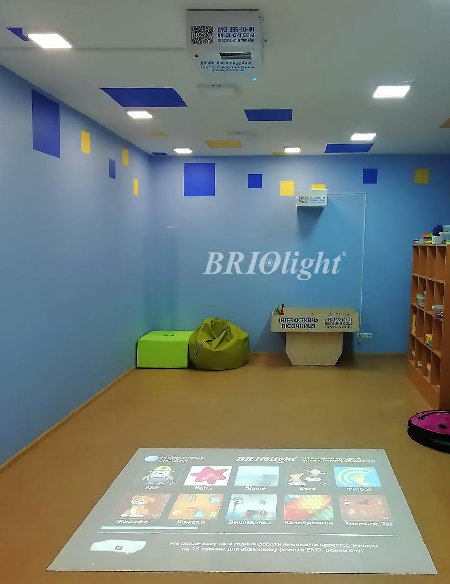 training children's memory interactive floor