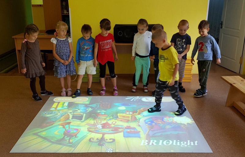 інтерактивна підлога для дитсадку купить в україні
