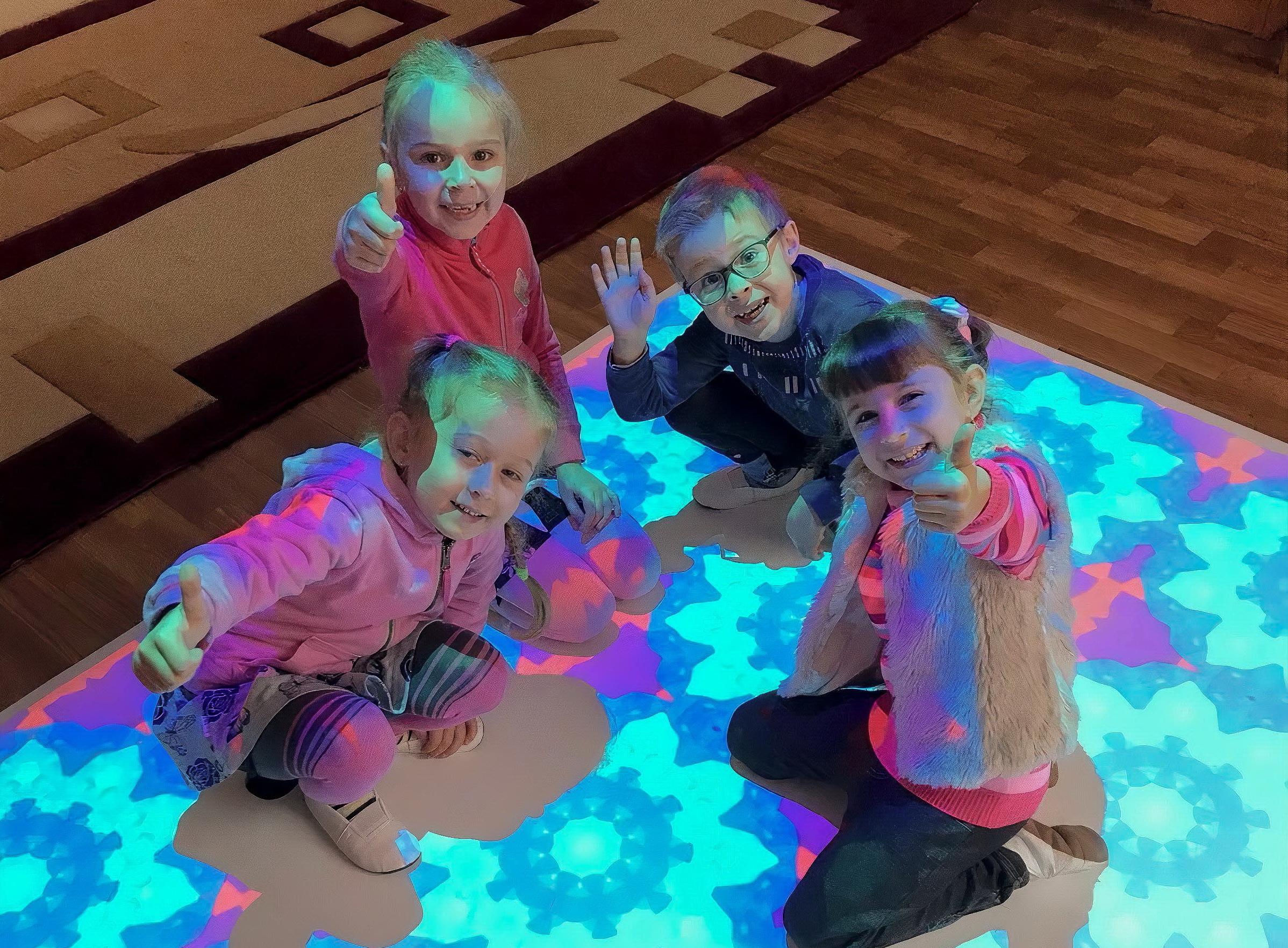 інтерактивна підлога для дитячих садів