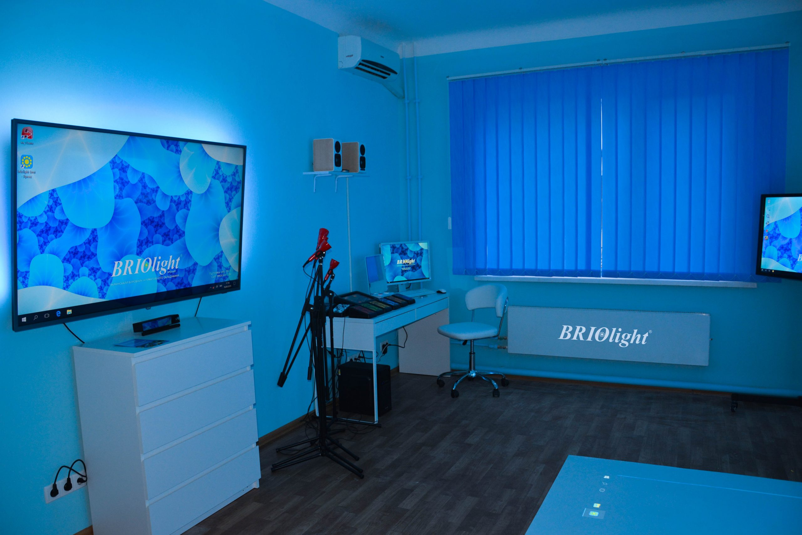 сенсорная комната для детской терапии украина