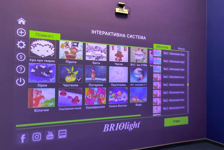 інтерактивна стіна україна